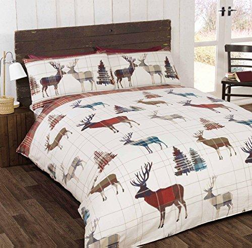 so-soft-morbido-cervo-lenzuolo-di-flanella-king-size-copripiumino-e-2-federe-per-letto-in-cotone-spa