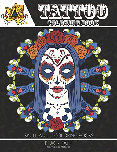 Get Tattoo Coloring Book: black page A Fantastic Selection of ...