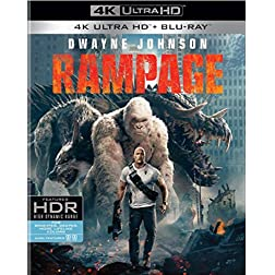 Rampage [4K Ultra HD + Blu-ray]