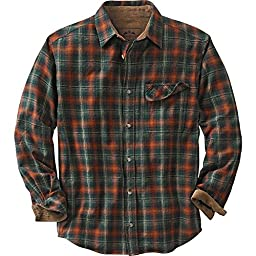 Legendary Whitetails Buck Camp Flannels Redwood Plaid XXX-Large