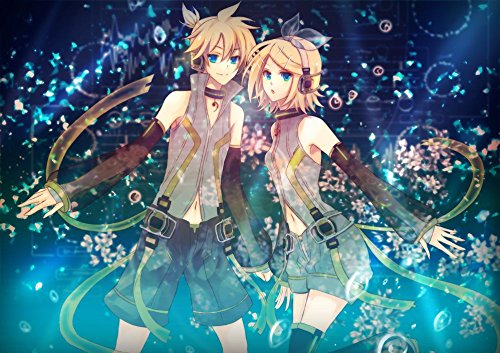 041-kagamine-rin-len-20x14-inch-silk-poster-aka-wallpaper-wall-decor-by-neuhorris