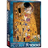 Eurographics The Kiss by Claude Monet 1000-Piece Puzzle