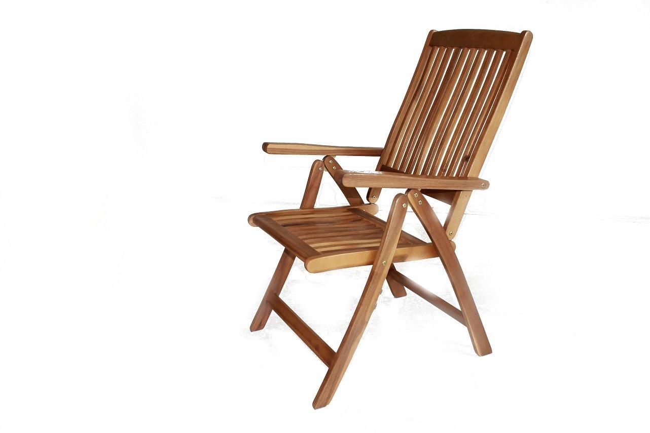 Klappstuhl Gartensessel Garten Stuhl Sessel Akazie Natur günstig bestellen