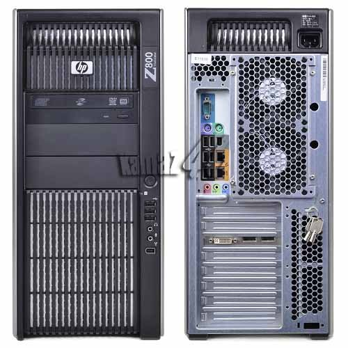 HP Z800 WORKSTATION 2 X INTEL QC E5520 2.26GHZ