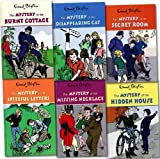 Enid Blyton Enid Blyton Mystery Collection 6 Books Set Pack RRP: £ 35.94 (The Mystery of: the Burnt Cottage, Disappearing Cat, Secret Room, Spiteful Letters, Missing Necklace, Hidden House)