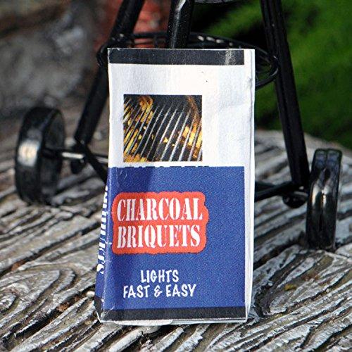 Miniature Fairy Garden Charcoal Bag
