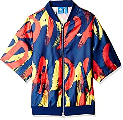 adidas Originals Women's Quilted Jacket (AB2652_Multicolor_36)