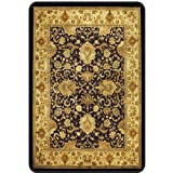 "Meridian Decorative Hard Floor Chairmat 36"" x 48"" Brown Multi Finish"