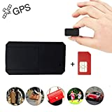 Mini GPS Tracker Anti Thief Real Time GPS Tracker Portable GPS Tracking Anti Loss GPS Locator Long Standby Time 200h for Kids Bags Vehicles Valuables - TK901 with SIM Card