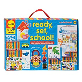 Alex Toys Ready, Set, School Activity Box, Alex Little Hands Series