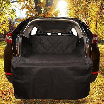 Favorite Pet Waterproof Car Seat Cover, Dog Rear Cargo Protector/Trunk Bumper