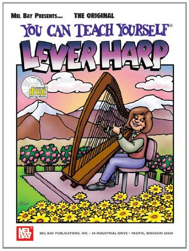 You Can Teach Yourself Lever Harp (Book & CD)