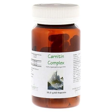 CARNITIN Fatburner Complex K 60 St Kapseln