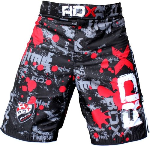 RDX Gel Fight Shorts UFC MMA Grappling Short Boxing NHB, M (31
