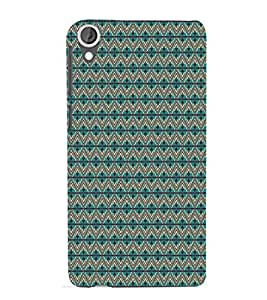 ifasho Designer Phone Back Case Cover HTC Desire 820 :: HTC Desire 820 Dual Sim :: HTC Desire 820S Dual Sim :: HTC Desire 820Q Dual Sim :: HTC Desire 820G+ Dual Sim ( I love Gujarat Blue Wood Look )