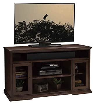 61.75 in. Tall TV Cabinet in Danish Cherry Finish
