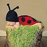 Dealzip Inc® Fashion Unisex Newborn Boy Girl Crochet Knitted Baby Outfits Costume Set Photography Photo Prop-Grey Bunny Rabbit