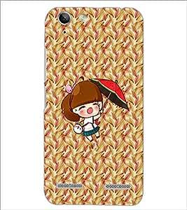 PrintDhaba Pretty Doll D-5634 Back Case Cover for LENOVO VIBE K5 (Multi-Coloured)