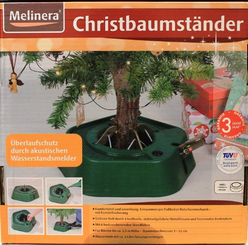 melinera christbaumst nder mit wasserstandsmelder. Black Bedroom Furniture Sets. Home Design Ideas