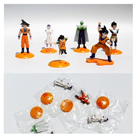 LOT de 5 figurines DBZ Dragon Ball Z - Approx 3.5cm-5cm