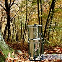 Big Berkey Water Filter-2 Black Filters and 2 Pf-2 Fluoride Filters