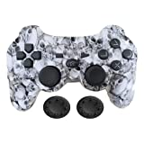 PS3 Controller Wireless - KPLN PS3 Remote Control Gamepad for PlayStation3, PS3 (Skull) (Color: Skull)