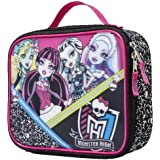 Monster High 3d Black/Pink Mania Lunch Kit