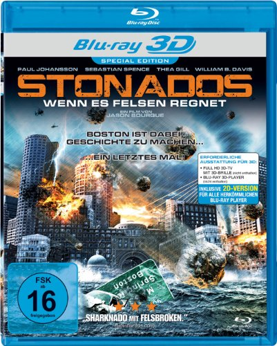 Stonados - Wenn es Felsen regnet [3D Blu-ray]