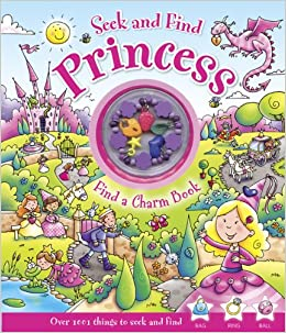 Seek and Find Princess: Find a Charm Book