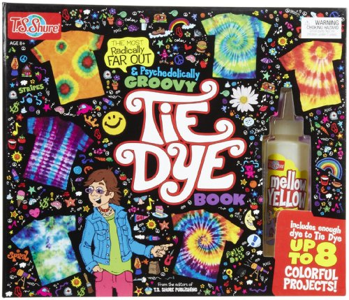 Ultimate Tie Dye Book & Activity