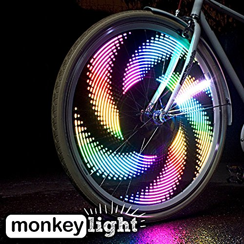 Monkey-Light-M232-200-Lumen-Bike-Wheel-Light-32-Full-Color-LED-Waterproof