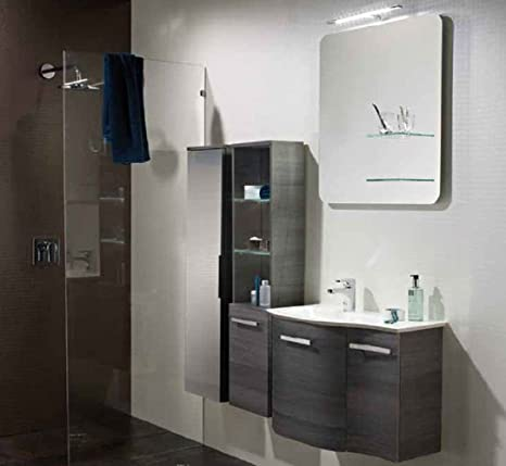 Pelipal Nito 3 Tlg. Bathroom Furniture Set/Vanity/Counter/Surface Mirror Glass Cabinet