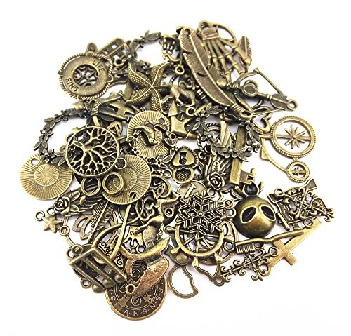 yueton-100-gram-approx-70pcs-assorted-antique-charms-pendant-for-crafting-jewelry-making-accessory-b
