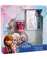 DISNEY Reine des Neiges - Frozen Coffret Eau de Toilette 30 ml + Bracelet + Boucles d'Oreilles Autocollantes