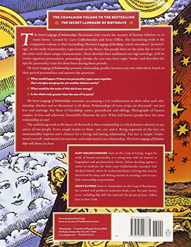 the secret language relationship book