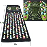 本物の健康 フットマッサージ 足のマッサージパッド 模造石畳の歩道