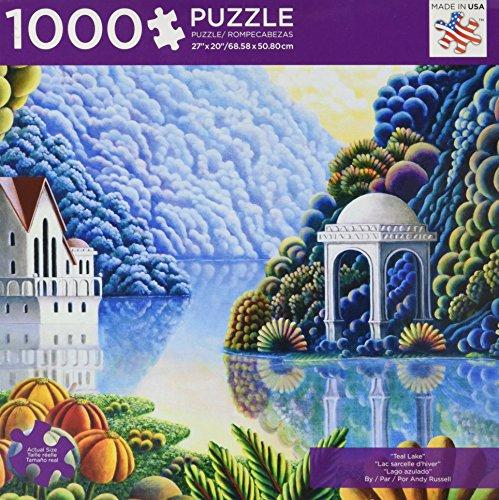 Teal Lake: 1,000 Pieces