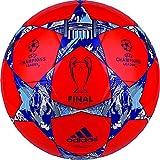 adidas Performance Finale Berlin Capitano Soccer Ball, Solar Red/Night Flash Purple/White, Size 4