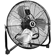 "TPI Corporation CF-20 Commercial Workstation Floor Fan, 20"" Diameter, 120 Volt"