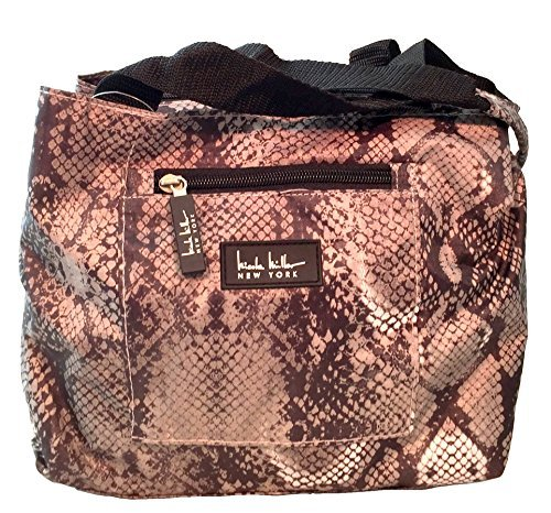 nicole-miller-of-new-york-insulated-lunch-cooler-python-gray-11-lunch-tote-by-nicole-miller