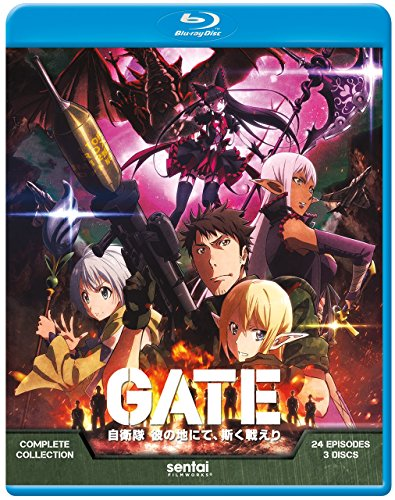 Blu-ray : Gate (, Anamorphic, 3 Disc)