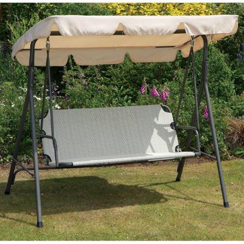 Kendall 3 Seater Swing Hammock Garden Seat