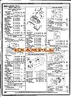 1998 - 2003 MERCEDES SLK230/SLK320/SLK32 PART NUMBERS, LABOR & PRICE ILLUSTRATED SHEETS