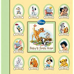 Disney Memory Keeper Album Baby S First Year 24