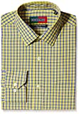 Peter England Men's Formal Shirt (8907411638995_PSF31600976_44_Yellow )