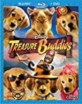 Cover Image for 'Treasure Buddies (DVD + Blu-ray Combo)'