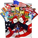 Art of Appreciation Gift Baskets All American Snacker Candy and Junk Food Box (Chocolate)