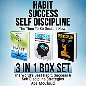 Habit, Success, Self Discipline: The Time to Be Great Is Now! Audiobook