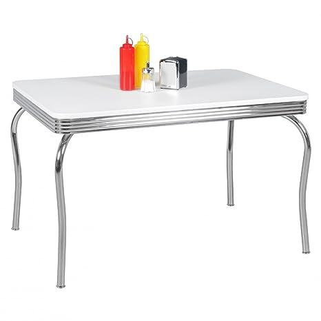 Tavolo da pranzo design Adesivo da 120cm American Diner