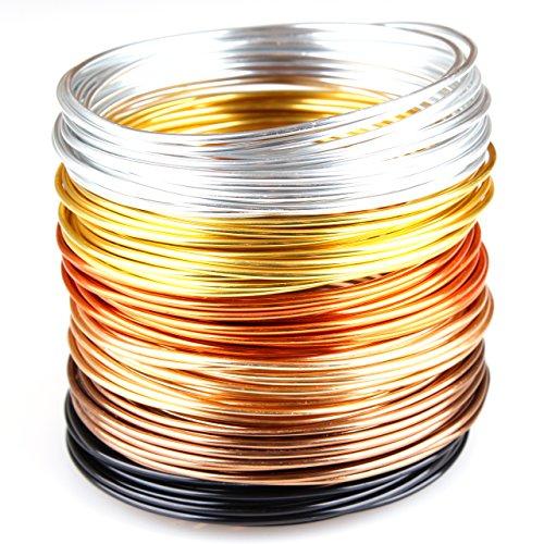 creac-raft-set-golden-autumn-filo-metallico-per-gioielli-alluminio-6-colori-30-m-5-m-per-ogni-colore